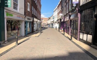 Keeping Worcester City Centre Clean for Worcester BID