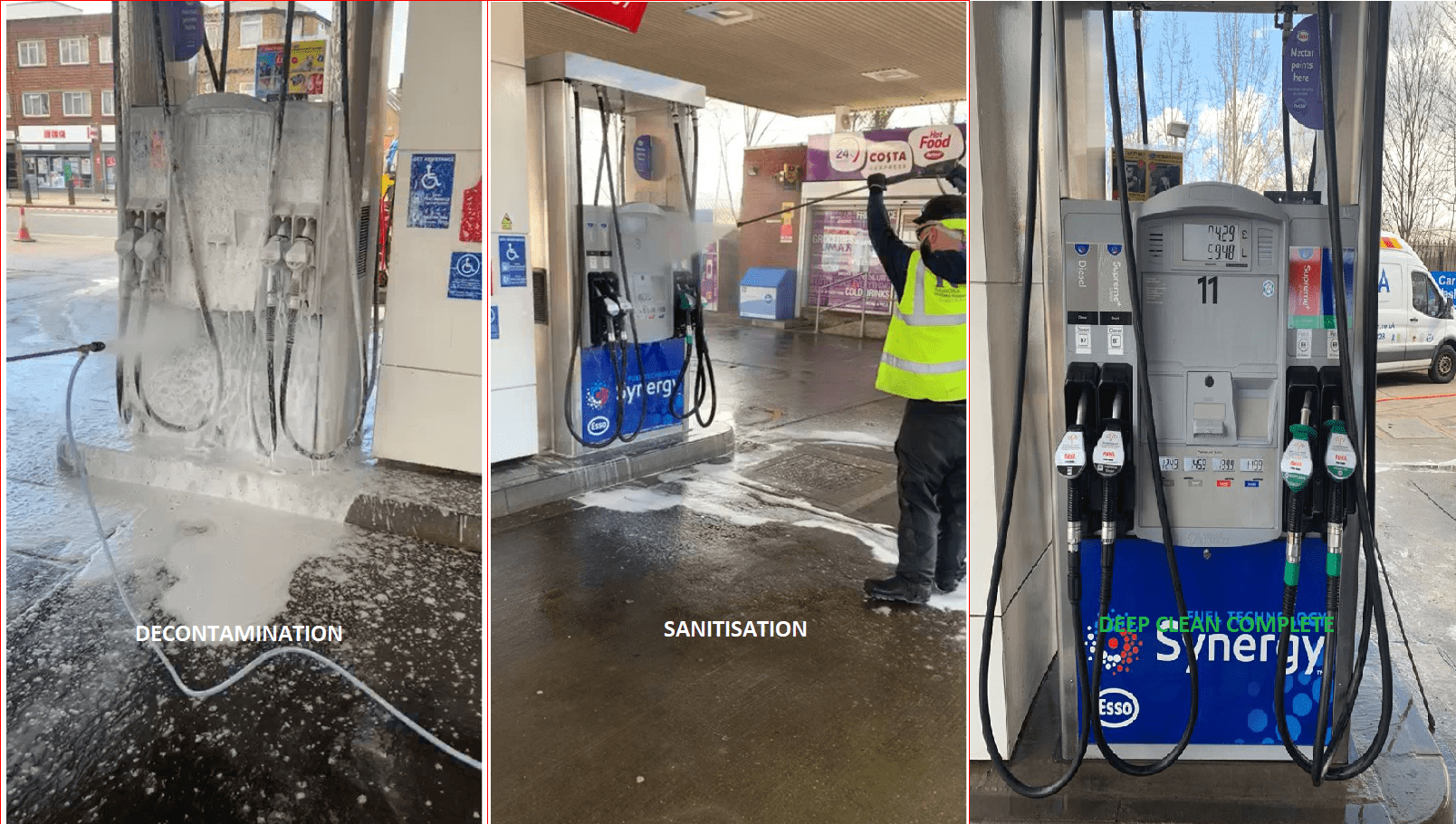 decontamination and sanitisation