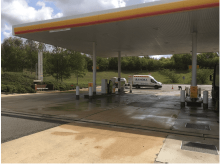 forecourt cleaning